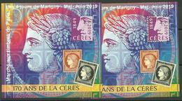 Bloc Marigny 2019  Les 170 Ans Du Timbre Cérès - Mint/Hinged