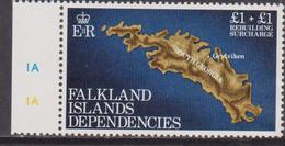 Falkland Island Dep. 1982 Map Set MNH - Geografia