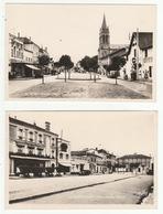 PEYREHORADE - Lot De 2 CP - Place Aristide-Briand - édit. Renaud-Buzaud, N°61 & 13 - Format CPA - Peyrehorade