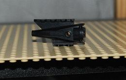 Lego Reacteur Buse Space Avion 4x2x2 Noir Ref 4746 - Lego Technic