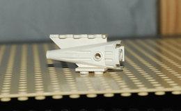 Lego Reacteur Buse Space Avion 4x2x2 Blanc Ref 4746 - Lego Technic