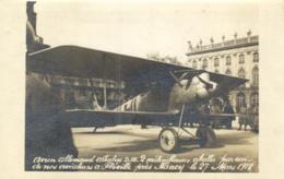 54 - Meurthe Et Moselle - Fléville Près Nancy - Avion Allemand Abattu Par Notre Aviation - C 6865 - Autres Communes