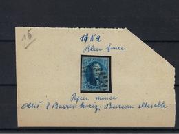 N°11 GESTEMPELD MET 4 MARGES COB € 10,00 SUPERBE - 1858-1862 Medallions (9/12)