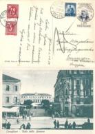 """Taxierte AK  """"Conegliano - Viale Della Stazione""""  Scomigo - Emmen          1950 - 1946-.. République"""