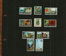 NEW ZEALAND - QEII - 1967 - 10 Stamps - MNH - Unused Stamps