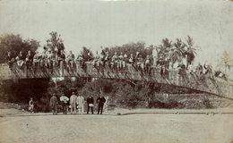 RPPC SEE BACK FOR EXPLANATION SURGING BRIDGE DE HAVILAND   PHOTO C GENTLE  INDIA - India