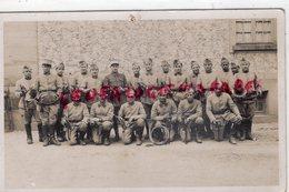 MILITARIA- 3 REGIMENT INFANTERIE  LEGION ETRANGERE -MUSIQUE FANFARE CLAIRON-COR DE CHASSE  CARTE PHOTO - Regiments