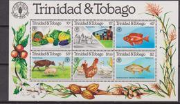 Trinidad & Tobago - Farm Agricolture Agricoltura FAO  Set MNH - Agricoltura