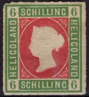 HELIGOLAND Helgoland ALLEMAGNE GERMANY  4 * MH Type I : Reine Victoria (CV 24 €) - Heligoland