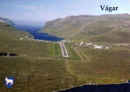 1 AK Färöer Faroe * Vágar Die Drittgrößte Insel Der Färöer Und Der Internationale (und Einzige) Flughafen Der Färöer * - Färöer