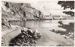 ANSTEY S COVE-TORQUAY-REAL PHOTO-1956 - Torquay