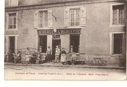 N 1329 JOUE LES TOURS  HOTEL DE L ALOUETTE  GUY PROPRIETAIRE - France