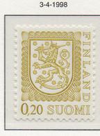 PIA - FINLANDIA  - 1998 : Uso Corrente - Leone Rampante Nuovo Tipo - (Yv 771) - Nuovi