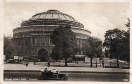 ROYAL ALBERT HALL-LONDON-REAL PHOTO -VIAGGIATA 1930 - London