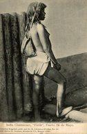 INDIO // INDIAN  INDIA CHAMACOCO. PORDE. PUERTO 14 DE MAYO. -  Fonds Victor FORBIN 1864-1947 / PLAIN BACK - Paraguay