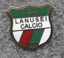 ASD Lanusei Calcio Ogliastra Distintivi FootBall Soccer Pins Spilla Italy - Calcio