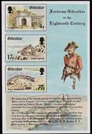 A1321 GIBRALTAR 1983, SG MS500 Fortress Gibraltar  In The 18th Century,  MNH - Gibilterra