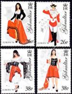 A1322 GIBRALTAR 1998, SG 834-7   Europa, Festivals,  Miss Gibraltar, MNH - Gibilterra