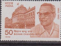 India 1982 Bidhan Chandra Roy, Medico Health Medicine MNH - Nuovi