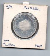 NEDERLANDSE ANTILLEN 50 GULDEN 1982 ZILVER PROOF JOODSE SYNAGOGE - Antilles Neérlandaises