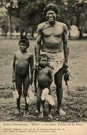 INDIO // INDIAN  INDIOS CHAMACOCO MILLET Y SUS HIJOS.PUERTO 14 DE MAYO. -  Fonds Victor FORBIN 1864-1947 / PLAIN BACK - Paraguay