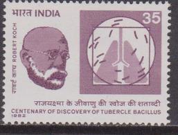 India 1982  Tubercolosi Health Medicine MNH - Nuovi