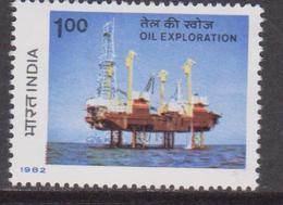 India 1982  Oil Set MNH - Nuovi