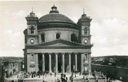 MALTA - Musta Church Musta - RPPC - Malte