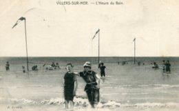 FRANCE -  Villers-sur-Mer. L'Heure Du Bain - Good Animation Etc - Villers Sur Mer