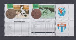 Cuba 1996 Olympic Games Atlanta   Stamps W/imprint In Margin 70. Anniv. Comite Olimpico Cubano MNH/** (H54) - Summer 1996: Atlanta
