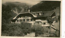SWITZERLAND - English Peparatory School - Chateau D'Oex - Matt RPPC - VD Vaud