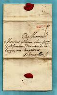 Brief Met Inhoud 14/01/1778, Griffe DOUAY Naar Bruxelles - Port : 6 - Exp.: Baron De Plotho D' Ingelmunster - 1714-1794 (Oesterreichische Niederlande)