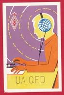 CARTE RADIO AMATEUR – UA1QED – Vologda, USSR 1982 - Amateurfunk