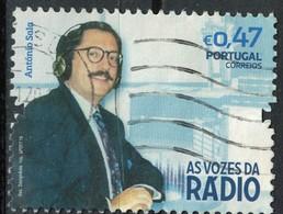 Portugal 2016 Oblitéré Used As Vozes Les Voix De La Radio António Sala SU - 1910-... Republik
