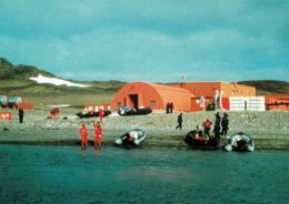 6 AK Antarctica Antarktis * Forschungsstationen, Inseln (King George, Penguin, Greenwich) Und Landschaften * - Ansichtskarten