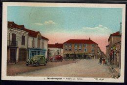 CPA Maubourguet Av. De Tarbes - Ets Hourcadet & Ricaud, Hotel De L'Univers - Voitures Anciennes Traction, Celtaquatre - - Maubourguet