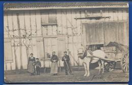 VAUCLERC   Carte Photo   Une Ferme à Localiser   Animées  écrite En 1908 - Autres Communes