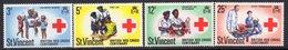 St. Vincent 1970 Red Cross Centenary Set Of 4, MNH, SG 305/8 - St.Vincent (...-1979)