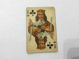 CARTA DA GIOCO POKER Rè DI FIORI PRIMI 900 - Altre Collezioni