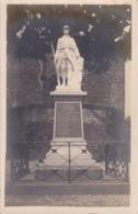 ARDENNES LONNY MONUMENT AUX MORTS CARTE PHOTO SIGNEE PAR LE MAIRE - Francia