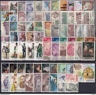 ESPAÑA 1976 Nº 2306/2380 AÑO NUEVO COMPLETO,75 SELLOS - España