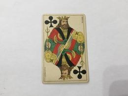 CARTA DA GIOCO POKER FRATELLI ARMANINO Rè DI FIORI 1886 GENOVA - Altre Collezioni