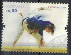 Portugal 2008 Oblitéré Used Art Martial Euro De Judo à Lisbonne SU - Oblitérés