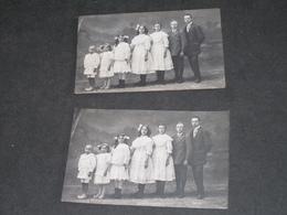 BASECLES - 7 Enfants D'une Nombreuse - Photo DELFORGE FRERES BASECLES - Anonyme Personen