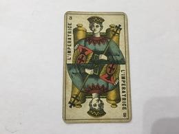 CARTA DA GIOCO PIEMONTESE VIASSONE TAROCCHI L'IMPERATRICE 1896 - Non Classificati