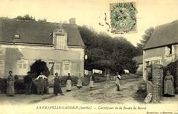 72 - LA CHAPELLE GAUGAIN CARREFOUR DE LA ROUTE DE BESSE / A 454 - France
