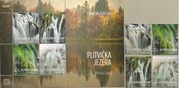 HR 2019-1397-400, CROATIAN TURISAN - PLITVICE LAKES, CROATIA HRVATSKA, 1 X 4v + S/S, MNH - Croatie