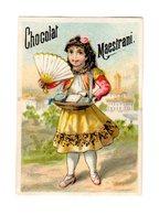 Petite Chromo Chocolat Maestrani, Suisse, Schweiz, Svizzera, En Espagne - Chocolate