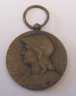 """France - Médaille Guerre 1870 - 1871 """"Aux Défenseurs De La Patrie"""" - Georges Lemaire - Bronze - Diam. 30 Mm - Professionnels / De Société"""
