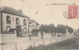 CPA ANGERVILLE 91 - Les Villas - Angerville